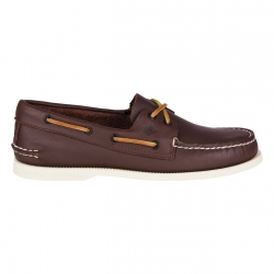 Scarpa Sperry Topsider Authentic Original 2-Eye Classic BOYS Brown - Sperry Topsider