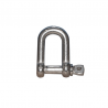 Shackle stainless steel Aisi316