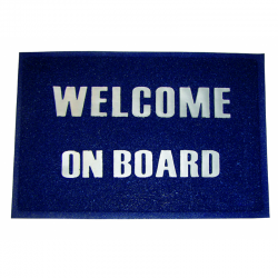 """Some of """"Welcome"""" in PVC mm.600x400"""