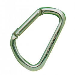 Carabiner asymmetrical stainless steel AISI 316