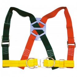 Safety harness with tape, nylon 45 mm.