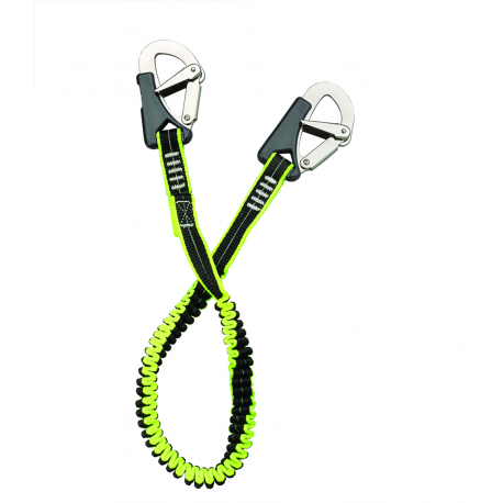Safety tape mt.1,5 static double karabiner