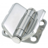 Hinges with integrated cover mm.39,6x78