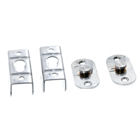 Stainless steel removable connection for ladders