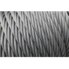 Stainless steel rope 49 wires ø mm.8