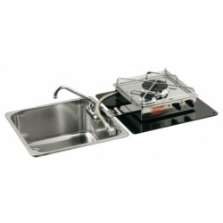Hob drop-in stainless steel single fire - Can