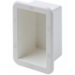 Niche in ASA white, wall mounting - CanSB