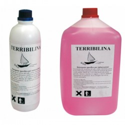 Terribilina Detergent that is biodegradable (over 90%)