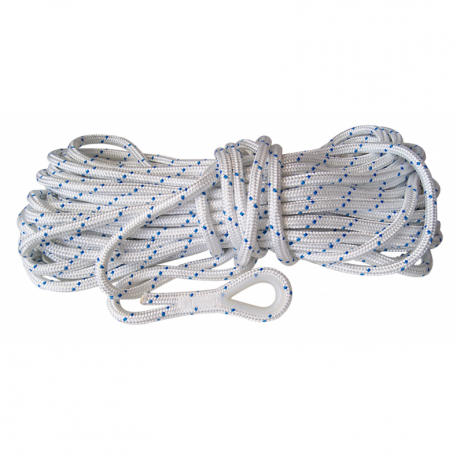 Rule rope for anchor complete with spliced redancia from 50 mt.