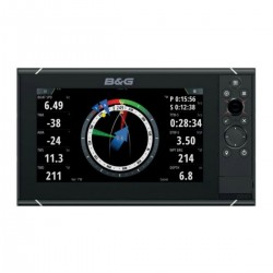 Depth sounder Zeus3-9 with a base map of the world - B&G