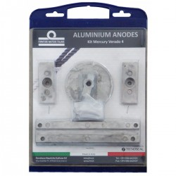 Kit anodes in the aluminium engine Kit Mercury Verado 4/Optimax