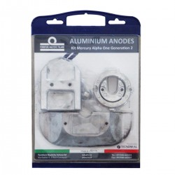 Kit anodi in alluminio per motori Mercruiser Alpha I Generation II