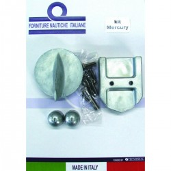 Kit anodes in aluminium for engines Mercruiser Alpha I Generation I