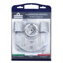 Kit anodes in aluminium for engines Mercruiser BravoI from 1998 to the present