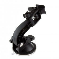 Suction cup mount for waterproof case