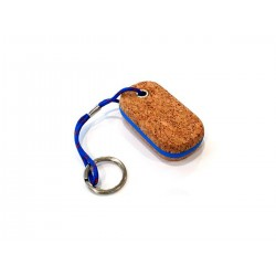 Keychain floating cork oval